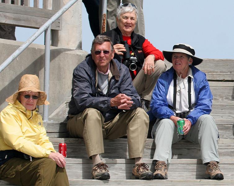 Jane, Dan, Lyn and Carol at Rockport Beach Park.