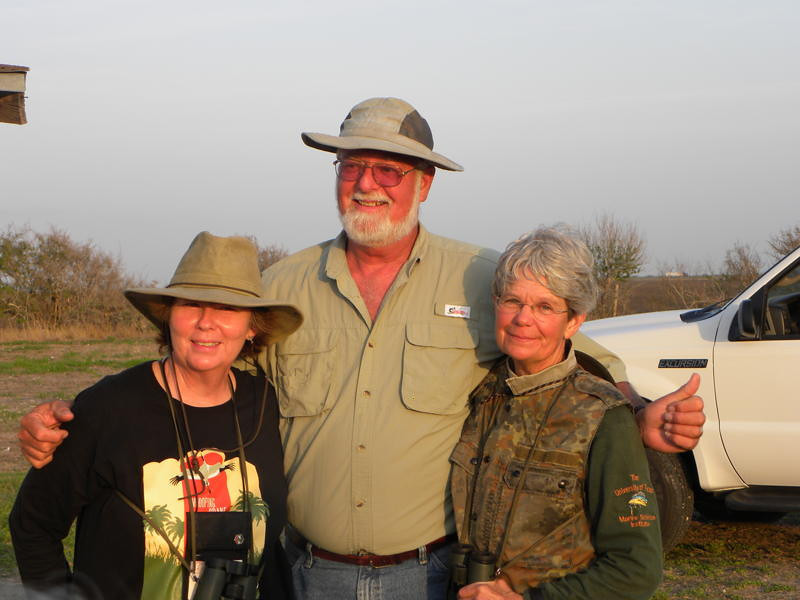 Our wonderful guide and leaders from Exploritas and The University of Texas Marine Science Institute --- Reta Pearson, Rick Tinnin and Nan Dietert.