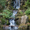 Waterfall at Portland's Japanese Gerdens