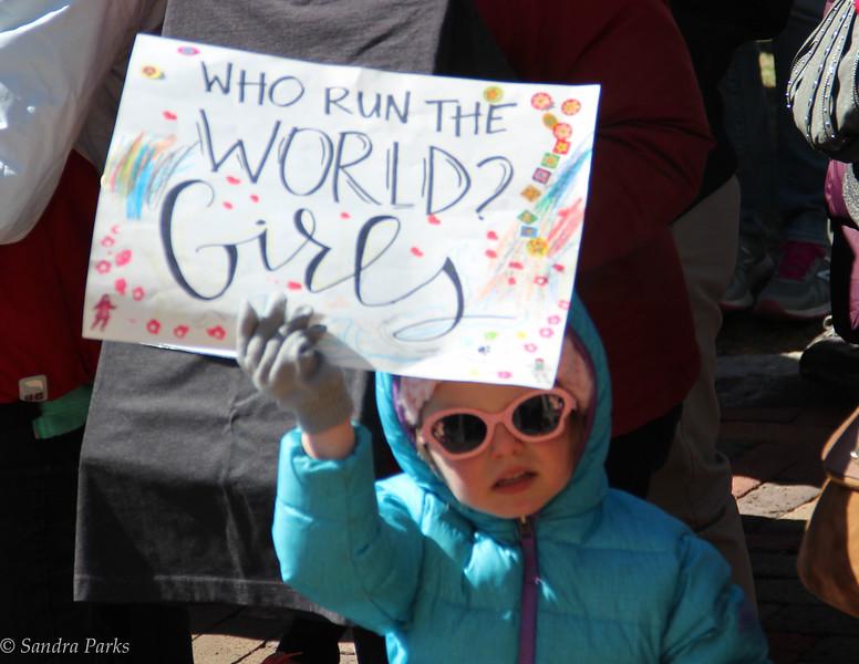 Harrisonburg's International WOman's Day March,