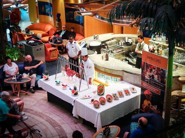 Armando explains Samba Grill in the Centrum