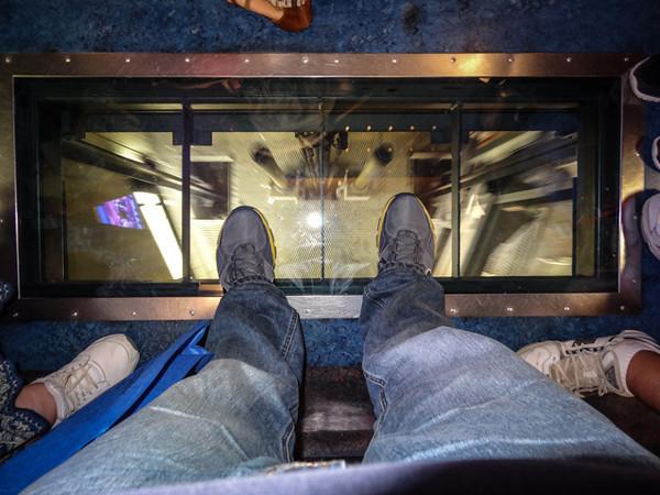 Glass Floor - Sky Tower Elevator