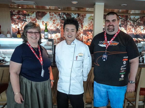 Travis Nobu Kamiyama - Izumi Head Sushi Chef