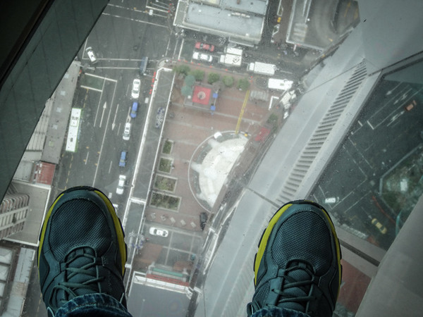 Glass Floor - Sky Tower