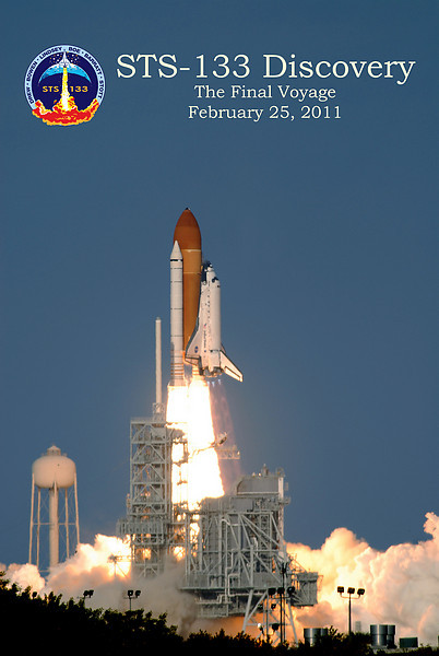 Discovery's Final Launch 20 x 30 Poster