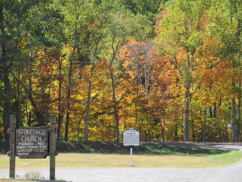 Stokesville colors