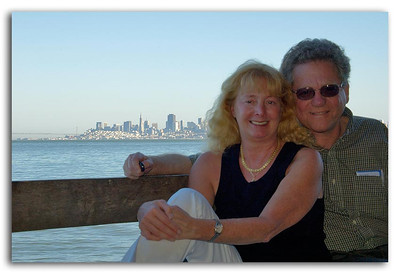 Katey and Radu in Sausalito