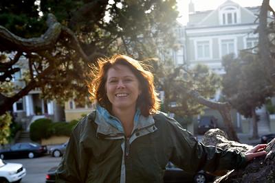 Lisa at Alamo Park