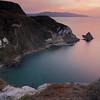 Sunset over Potato Harbor on Santa Cruz Island
