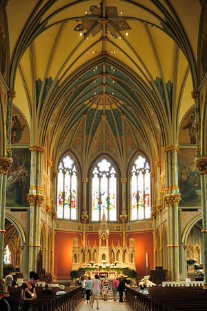Inside the Cathedral of St. John the Baptist