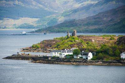 Western Highlands - Dunakin Castle