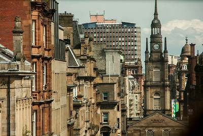 Glasgow Through The Window