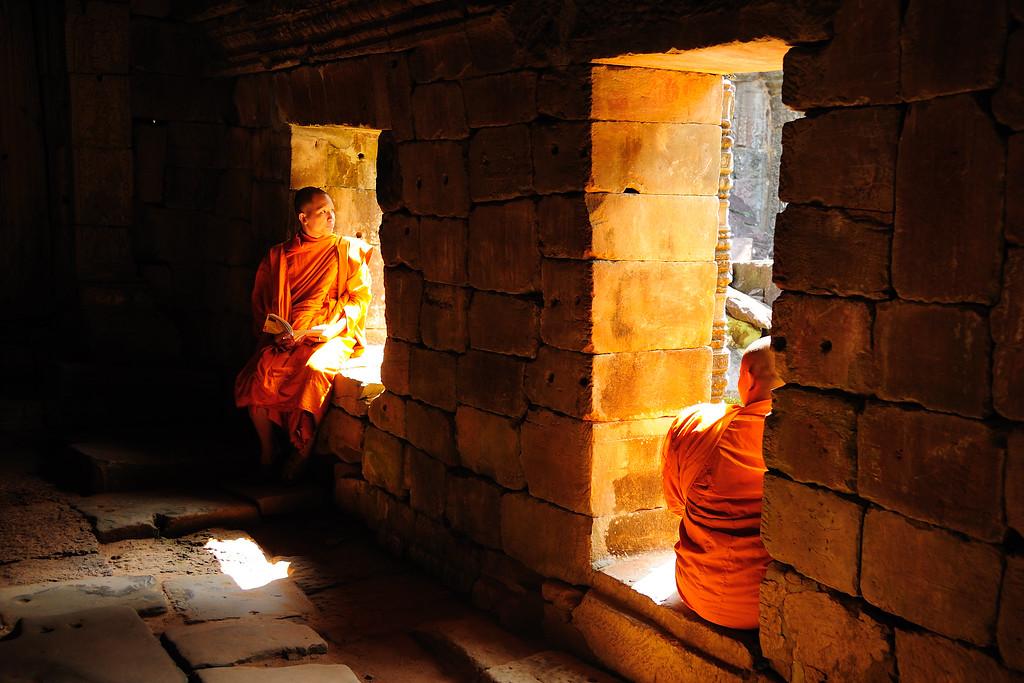 Within Angkor Wat