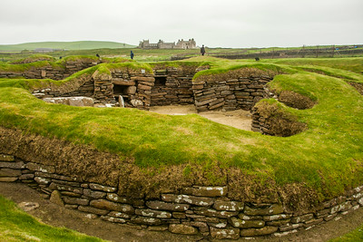 Skaill House and Skara Brae