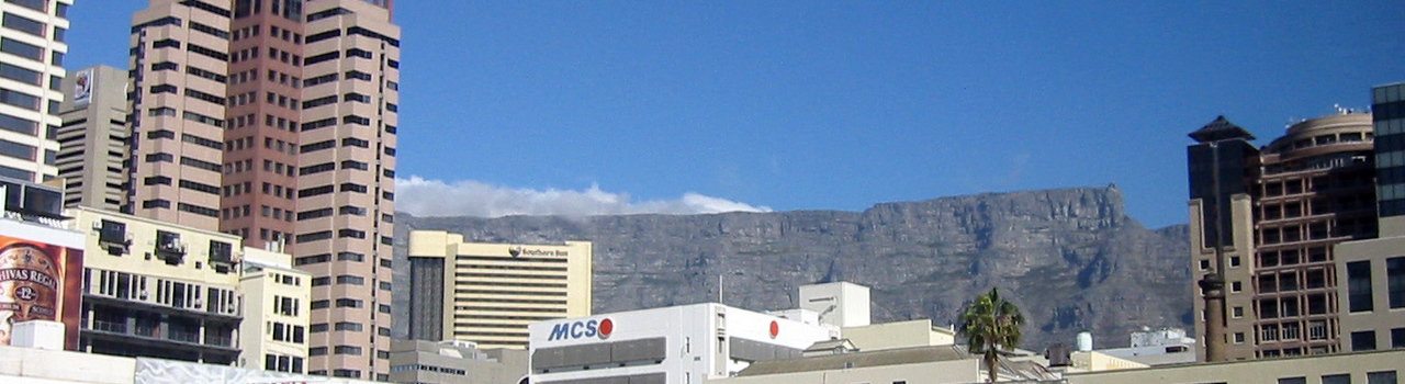 First sighting of Table Mountain