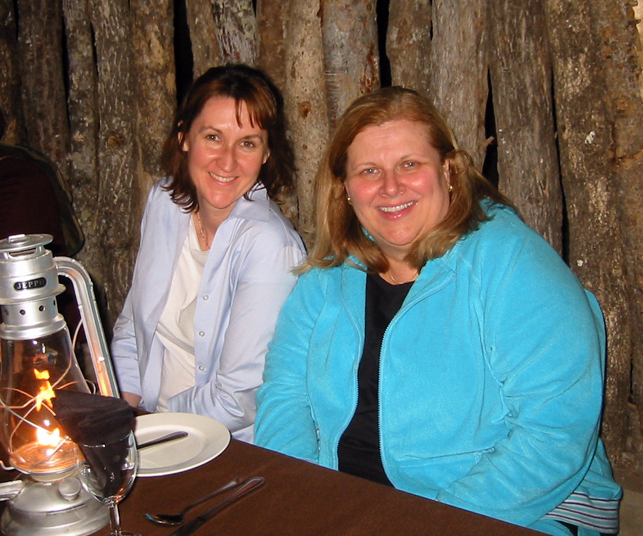 Boma - Manyatta Rock Camp - Christine and Joanne