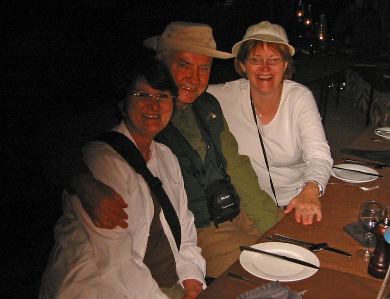 Boma - Manyatta Rock Camp - Suzanne, Skip & Patricia