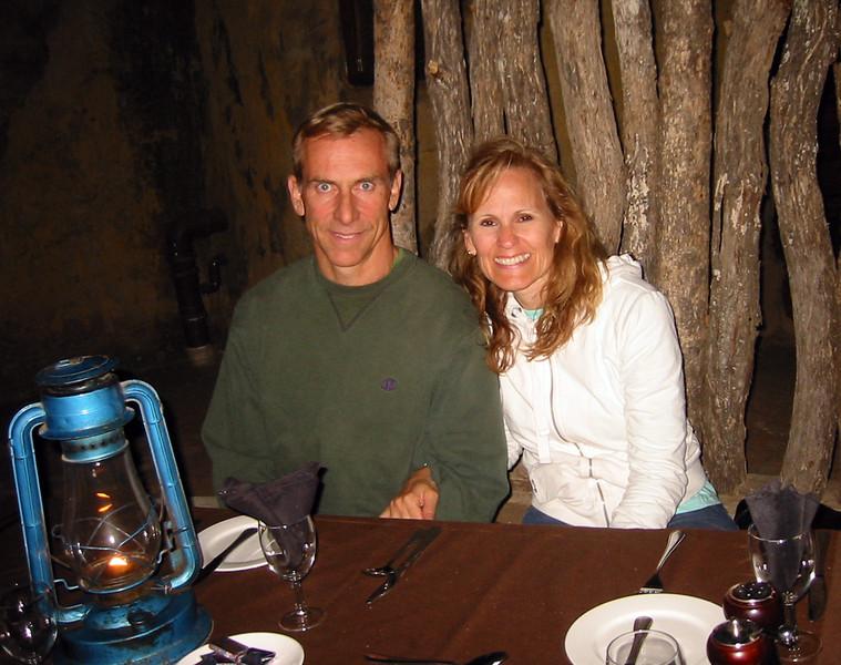 Boma at Manyatta Rock Camp - Joe and Therese