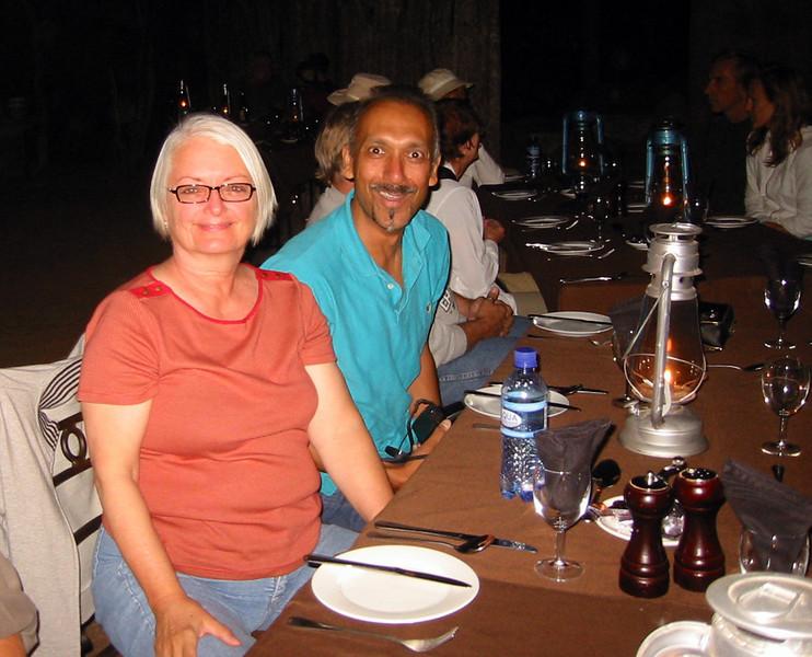 Boma - Manyatta Rock Camp - Kathy and Bhavesh