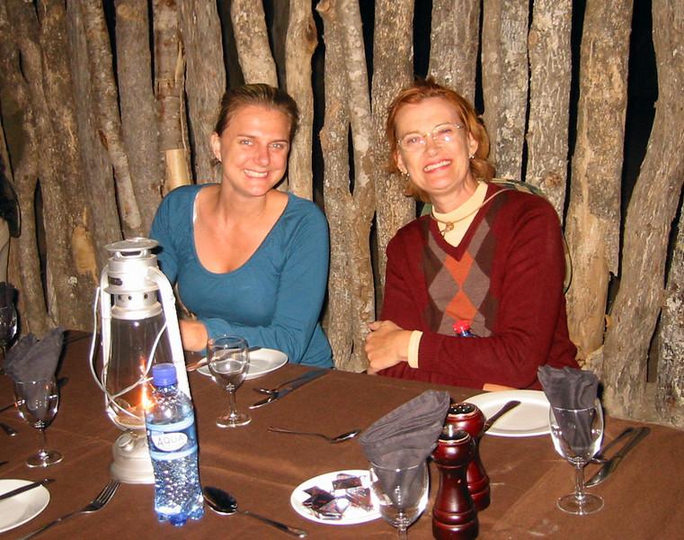 Boma - Manyatta Rock Camp - Breanne and Rosalyn
