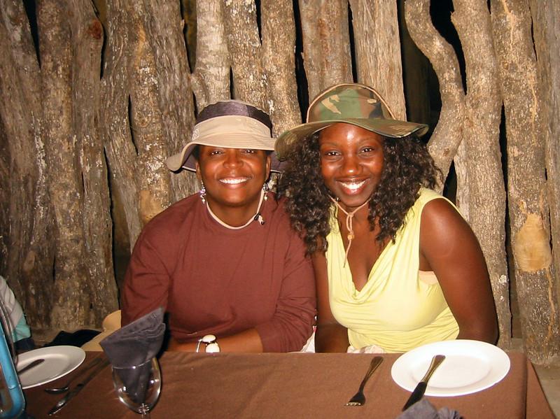 Boma - Manyatta Rock Camp - Anna and Marvena