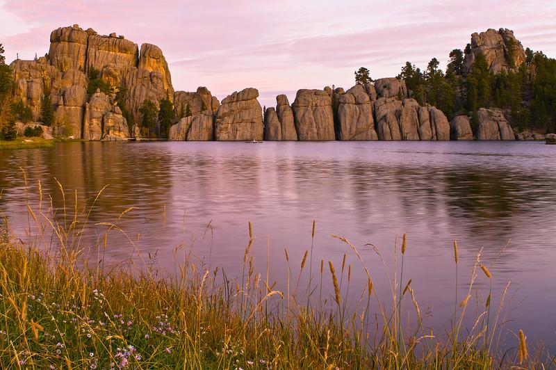 TRSD-8056: Lake Sylvan in Custer State Park