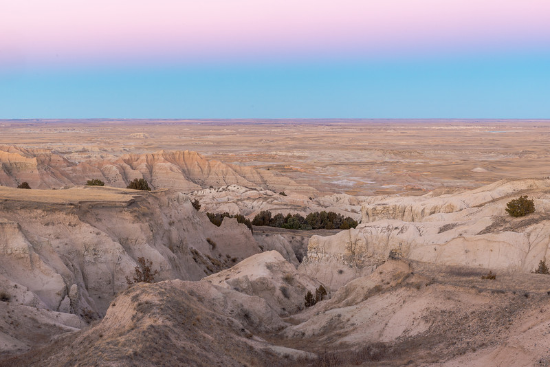 Twilight in the Badlands