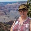 Tina at the Grand Canyon