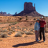 Joe & Linda in Monument Valley
