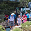 """Unloading the """"O"""" Bus at the Grand Canyon"""