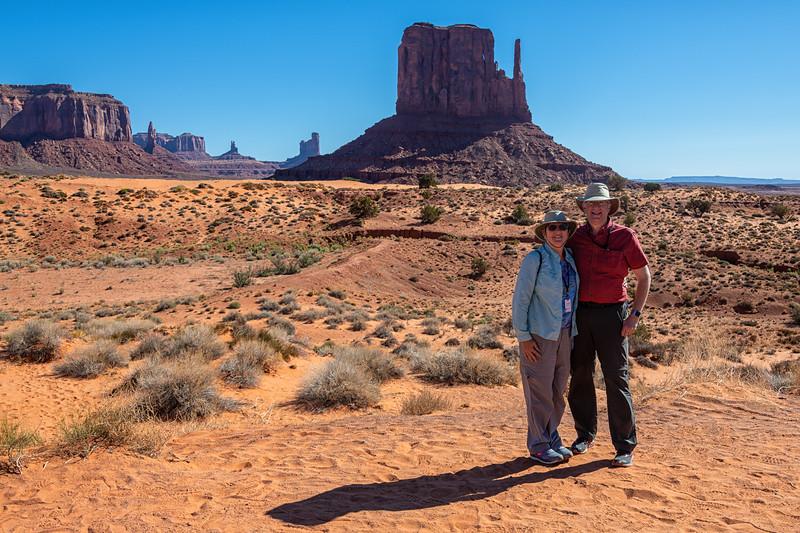 Joe & Linda in Monument Valley