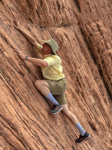 Free Climbing the Calico Hills