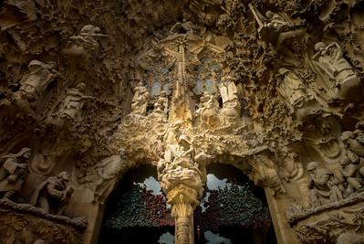 La Sagrada Familia - Nativity Facade 1