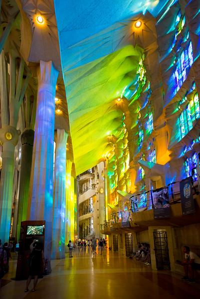 La Sagrada Familia - Green Side