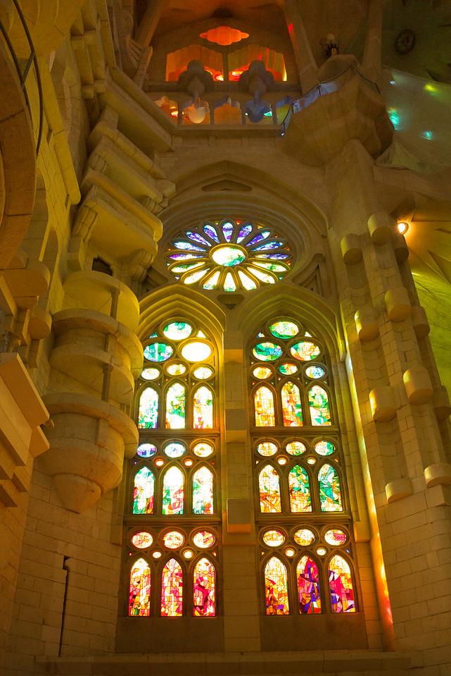La Sagrada Familia - South Window