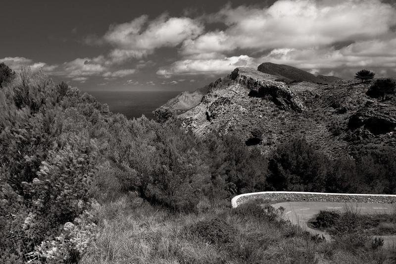 'Achilles' Wall, Llevant, Majorca, Spain