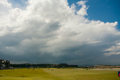 Storms over St. Andrews