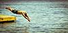 Junkii diving (Photographer: Krista Caron)
