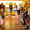 Lunchroom Flash mob singing Stay All Night
