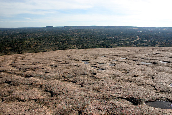 Enchanted Rock (outside of Fredericksburg, TX)