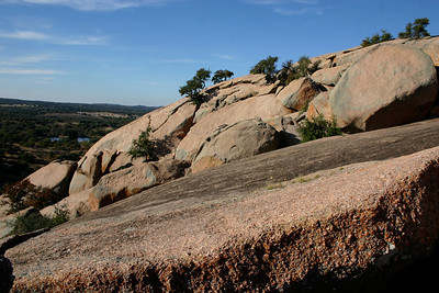 Enchanted Rock (outside of Fredericksburg, TX)
