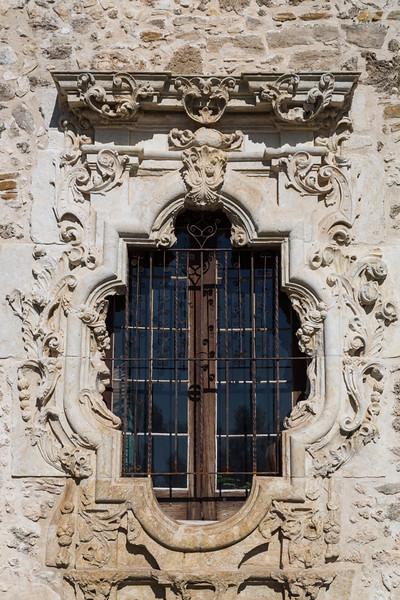 Mission San Jose-La Ventana de Rose-the Rose Window