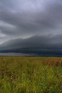 Thunderstorm near Buda, TX