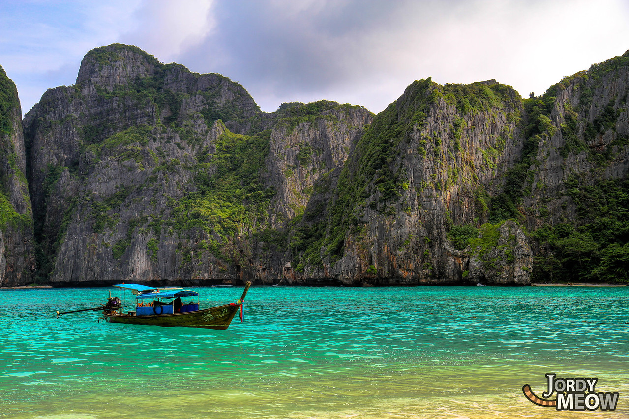 My Boat at Maya Bay