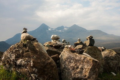 Inukshuks at the Overlook