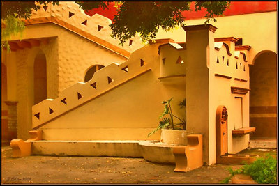 Tijuana Courtyard