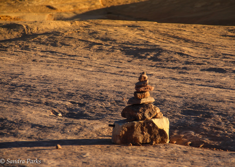 Cairn at Arches