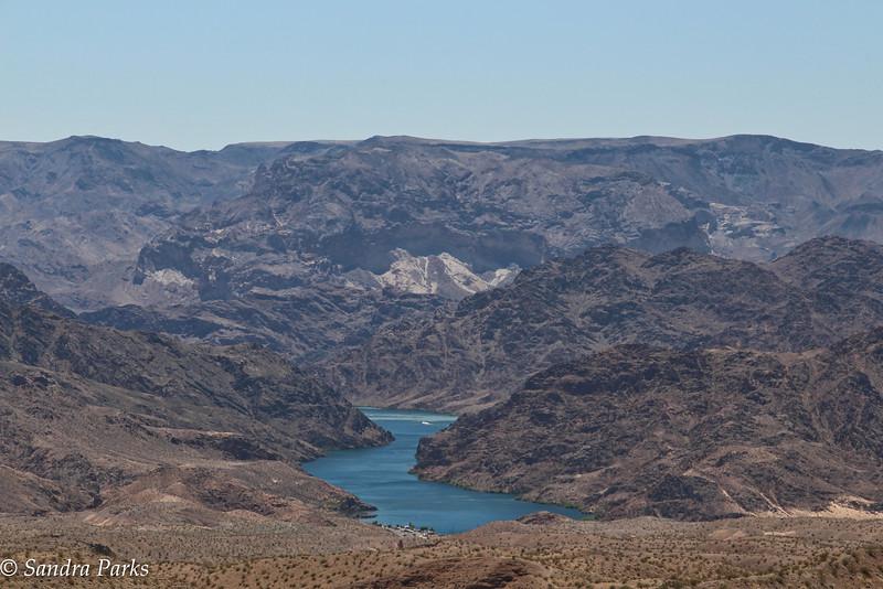 Scenic overlook, Lake Meade