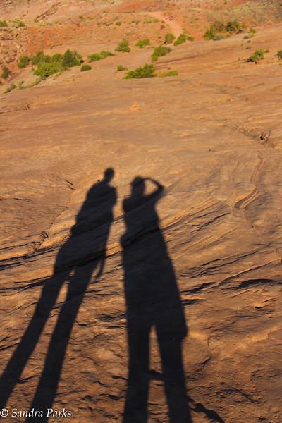 shadows at Arches