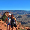 Sandy and Cecelia, SOuth Kaibab Trail